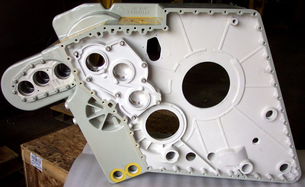 Aerospace & Defense parts | Magnesium Gear Box Housing
