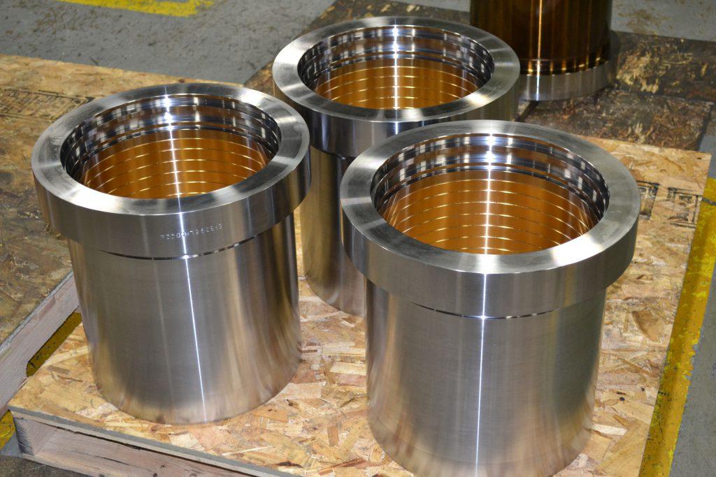 Acme OEM Mining parts | Three Bearing Retainers
