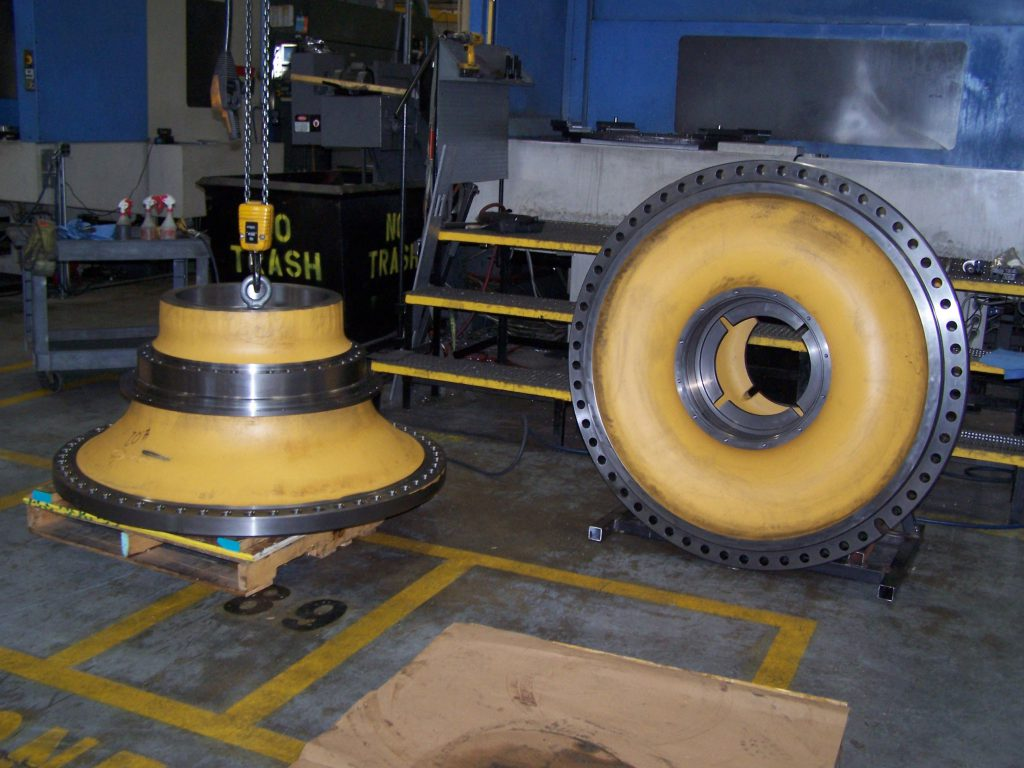 Acme OEM Mining parts | Wheel Hub Yellow